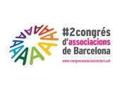 Imatge del logo del 2n Congrés d'Associacions de Barcelona