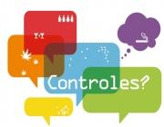 """Imatge del díptic informatiu general de l'exposició """"Controles?"""""""