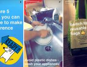 5 formes d'utilitzar les «stories» d'Instagram i Snapchat. Imatge de Greenpeace.