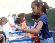 Enguany ha votat l'alumnat de 4t, 5è i 6è de Primària