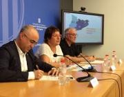 Presentació i signatura del Contracte Programa 2016-2019 a la delegació del govern. Font: Gencat.cat