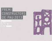 Premi constructors de pau 2013