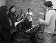 Actuació del Cor de Noies de Matadepera, dirigit per Jaume Sala (Foto: MCC)