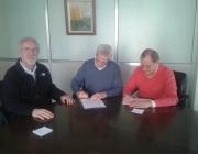 Signatura convenir Conex-Llars Compartides