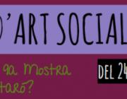 Convocatòria oberta per participar a la 9a Mostra d'Art Social de Mataró. Font: Taller d'Idees