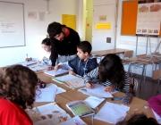 Voluntari del programa socioeducatiu de la Fundació Autònoma Solidària.