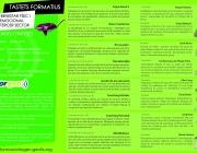 Agenda dels Tastets pel benestar Físic i emocional al Tercer Sector