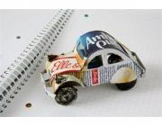 Cotxet de llauna de la Fundación Agua de Coco. Font: botiga fundació