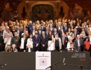 Personalitats i entitats guardonades per la Creu de Sant Jordi 2018 que atorga la Generalitat de Catalunya