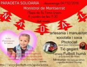 Cartell 3a Paradeta Solidària de la Cristina. Font: Un Bri d'esperança per la Cristina