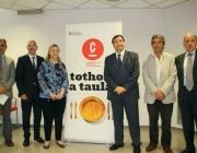 Imatge de la presentació de la candidatura a les terres de Lleida