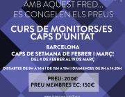 Curs de monitors/es - caps d'unitat a Barcelona