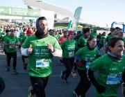 Imatge de les persones participants en la cursa 'En Marxa Contra el Càncer Barcelona'