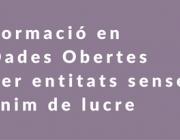 Programa formatiu en dades obertes - Font: Generalitat de Catalunya