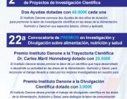 Ajuts de l'Institut Danone per a la realització de Projectes d'investigació científica