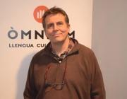 David Karvala, coordinador de la campanya Lluites compartides / Foto: Òmnium Cultural