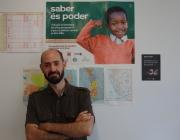 David Ortiz, a la seu de Proide a Barcelona
