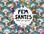 """Portada del Llibre """"Fem Santes""""."""