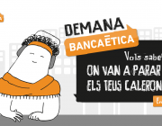 Captura de la plataforma interactiva Demana banca ètica