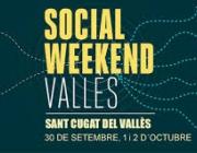 Cartell Social Weekend Vallès. Font innovaciosocialvalles.cat