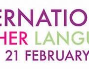 Part del cartell del Dia Internacional de la Llengua Materna 2012
