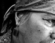 Dona d'étnia gitana. Font: Revista Crítica