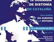 IX Jornada de Distonia a Catalunya