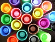 Retoladors de colors. Diversitat. Font: Angel_SinClaudicar (flickr)
