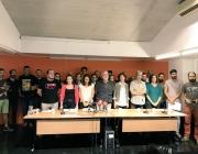 """Roda de premsa de presentació de la plataforma """"En Peu de Pau"""""""