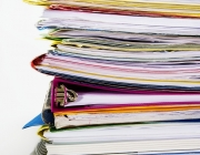 Carpetes amb documents. Font: Bolsa & Datos