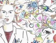 Imatge del Dia Internacional de la Nena i la Dona a la Ciència. Font: 11defebrero.org