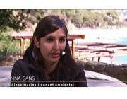 Anna Sans, voluntària ambiental i donant ambiental, al programa Som el que fem (imatge: ccma.cat)