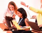 Participació de les dones. Font: Flickr d'Hubert Burda Media
