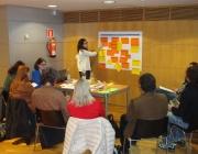 Sessió del procés participatiu per a l'elaboració del pla (imatge: DTES)