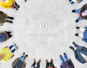 Imatge de portada del web de E-urope