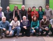 Fotog de grup de la constitució de l'Associació de Xarxes de Mercat Social