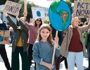Ecoserveis treballa per incloure les demandes de la gent jove en les polítiques climàtiques locals. Font: Ecoserveis