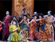 """Imatge del musical """"El Mikado"""", de la Sala Cabanyes de Mataró"""