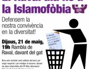 El Raval diu no a la Islamofòbia