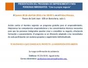 Programa d'emprenedoria per persones immigrants