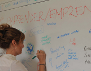 Jornada sobre emprenedoria. Imatge CC BY-NC 2.0 de la galeria Premsa SantCugat