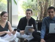 Joves participants al programa Enfoca't. Font: Fundesplai