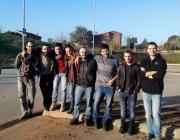 Part de l'equip d'Arqbag / Foto: Arqbag