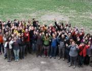 Joves membres dels equips de direcció de Minyons Escoltes i Guies de Catalunya.
