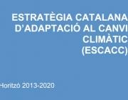 Estratègia Catalana d'Adaptació al Canvi Climàtic
