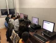 Ordinadors de l'Espai Ca N'Anglada cedits per 'UPC Reutilitza'