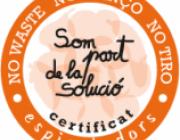 El certificat del que poden gaudir les empreses col·laboradores (imatge: espigoladors.cat)