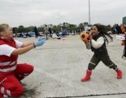 Projectes de promoció de l'esport entre els refugiats. Font: www.entornointeligente.com