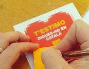 """Campanya """"Estimo el català"""" de la Plataforma per la Llengua"""