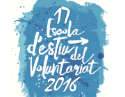Logotip 17 Escola d'Estiu del Voluntariat. Font: voluntariat.org